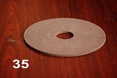 Диск круг для заточки пил ПП 150х4х32 F60