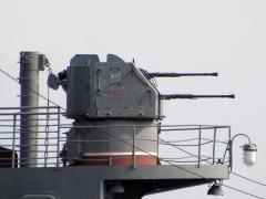 25-мм спаренное универсальное орудие 2М-3