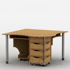Компьютерный стол на 2 рабочих места Тиса-4