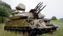 "ЗСУ-23-4. Зенитная самоходная установка ""Шилка"""
