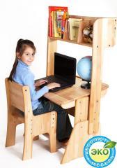 Детская парта растишка стол трансформер Абсолют
