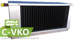Водяной охладитель воздуха канальный C-VKO