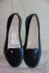Flats suede gray B-1