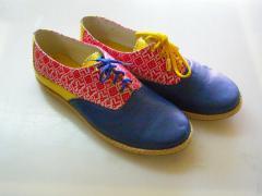 Кроссовки-туфли женские Патриотические