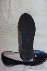 Балетки черные  (Б-1)