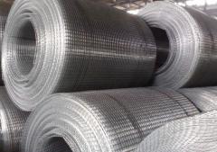 Grid welded 12*12*0.8*30000*1000 black in rolls