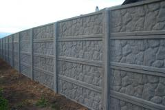 Fences are concrete decorative