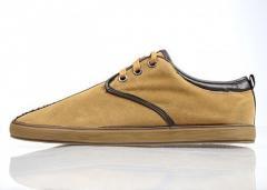 Туфли мужские повседневные Casual Style TM «BIKKE»D-579-ORANGE