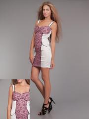 Платье гипюрPG-F0037-BESR