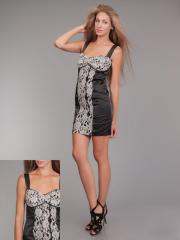 Платье гипюрPG-F0037-CHBL