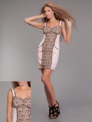 Платье гипюрPG-F0037-CHRZ