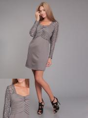 Платье гипюрPG-A0022-SER