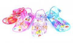 Сандали детские силикон