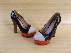 Туфли трицвет