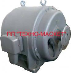 Engine high-voltage AE113-4U of 250 kW 6000 V