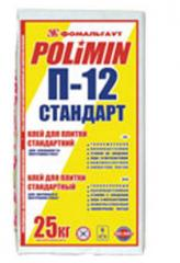 Bonding mix for ceramic tiles p-12