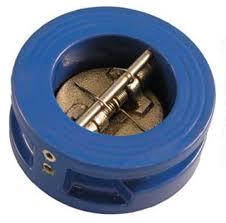 Backpressure interflange valves