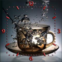 Часы настенные на ДСП