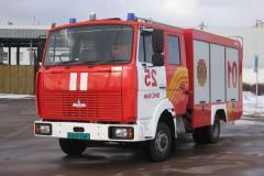 Пожарно-спасательный автомобиль комбинированного