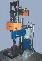 The machine for flaring of rivets