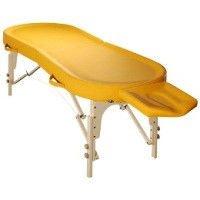 Folding massage tables