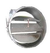 Клапаны пылегазовоздухопроводов круглого сечения,