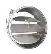 Valves of pylegazovozdukhoprovod of round section,