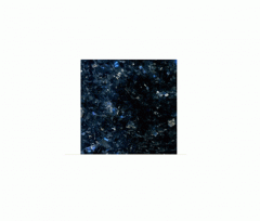 Border from Galactic Blue granite