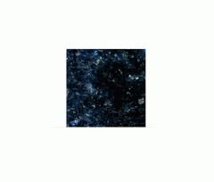 Border from Galactic Blue granite