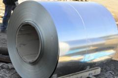 Roll 0,45х1000 zinced steel 0.8kp