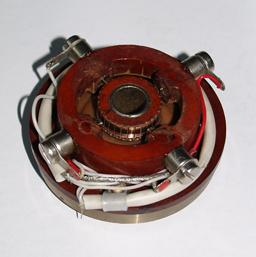 Tacho generators of a direct current in