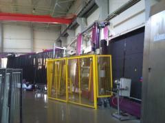 Стеклопакетное виробництво Lisec 2006 року.