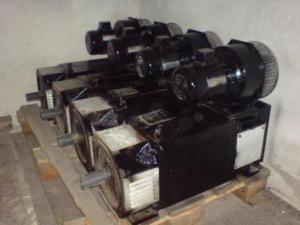 We sell electric motors of a direct current.