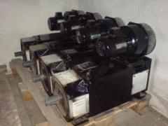 Electric motors of direct current of different