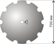 Daisy disk (d) 710