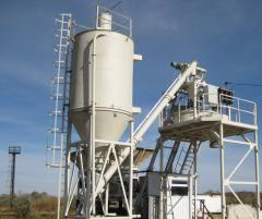 "Mobile concrete mixing plant ""GRANITE"