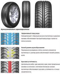 Покришки й шини R16