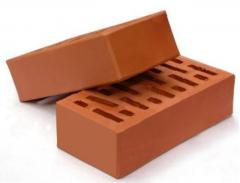Кирпич керамический прямоугольный 250х120х65мм