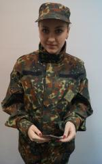 "Suit camouflage to ""Animated cartoons"" camouflage sui"