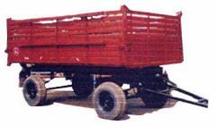 Прицепы и полуприцепы для тракторов и иной