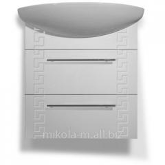 Комплект мебели для ванной «Греция»с подвесной