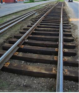 Tramway rails