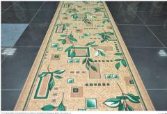 Дорожки ковровые, ширина дорожки 1,0 м