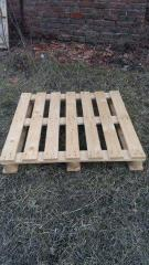 Pallets are square: 1140х1140, etc.