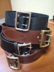 Belts are officer, belts leather for law