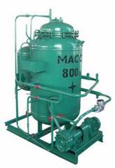 Block water treatment VPU-2,5 installation