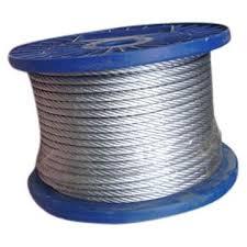 Ropes steel, corrosion-proof, galvanized
