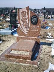 Памятник гранитный фигурный коричневый
