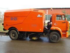 Sweeping and harvest vacuum KO-326 car