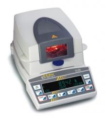 Analyzer of humidity of MRS